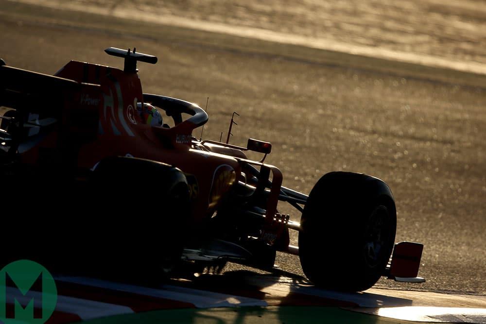 Ferrari SF90 F1 car 2019