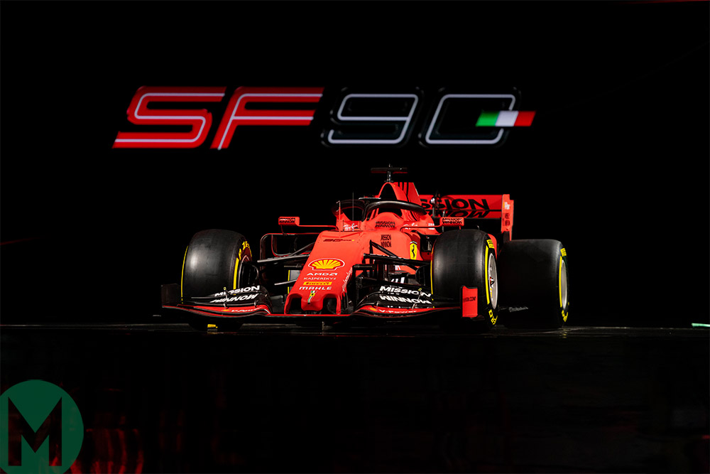 Ferrari 2019 F1 car SF90 launch