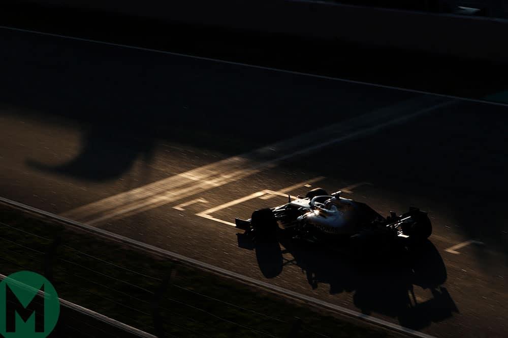 Lewis Hamilton F1 testing 2019
