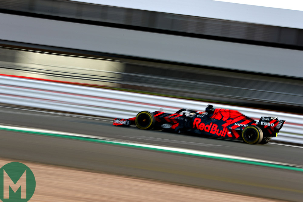 Red Bull RB15 filming day silverstone