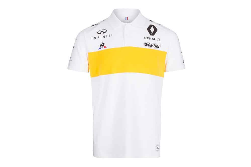 Renault F1 2019 polo shirt