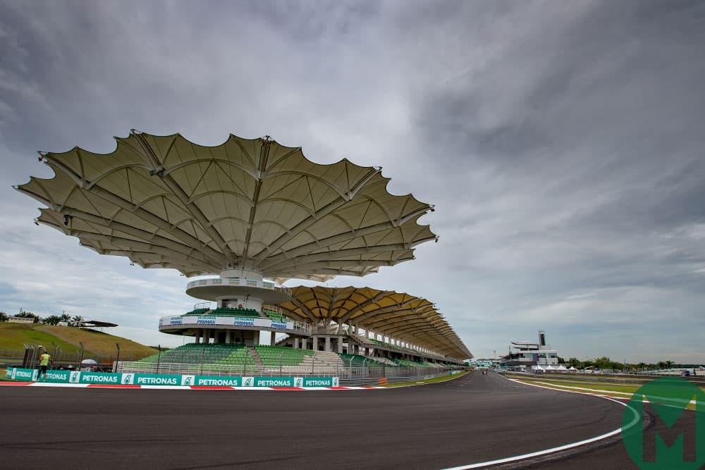 The Sepang circuit in Malaysia