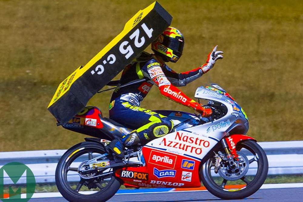 Rossi wins 1997125cc championship