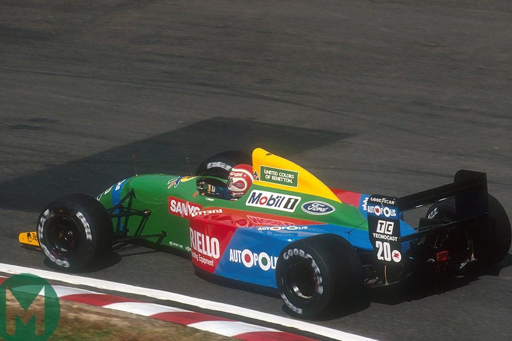 Benetton B190 F1 car 1990 Japan
