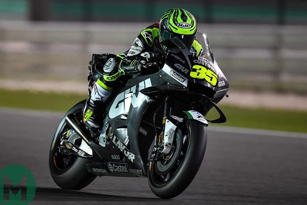Cal Crutchlow Qatar MotoGP testing 2019
