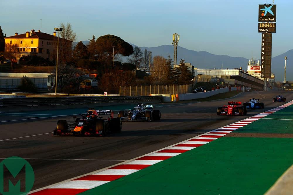 F1 testing 2019 Barcelona