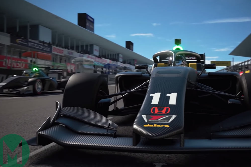 The 2019 Super Formula SF19 to be added to Gran Turismo