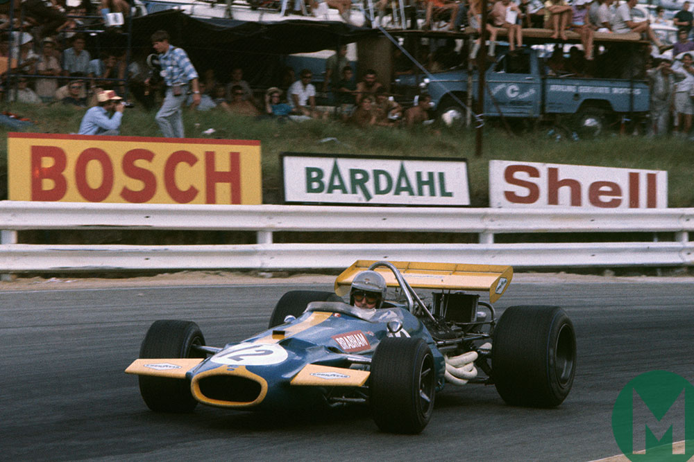 Jack Brabham in the 1970 South African Grand Prix