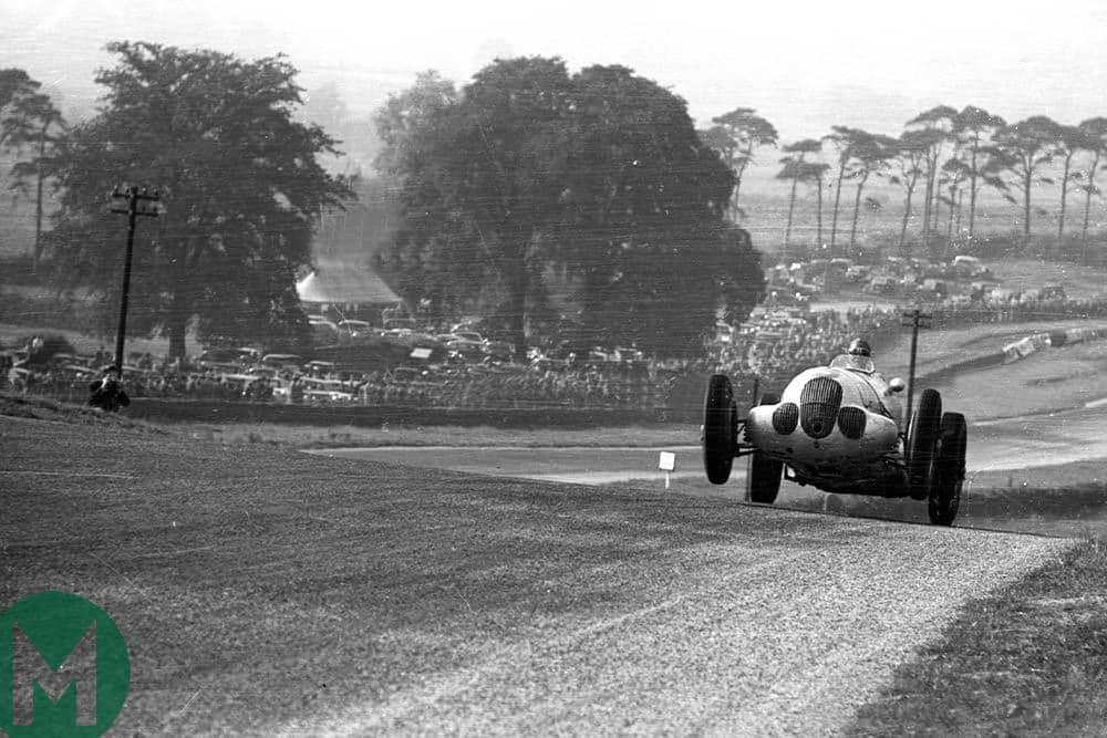 Donington Park 1937 GP Auto Union