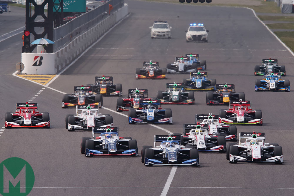2019 Super Formula Suzuka start
