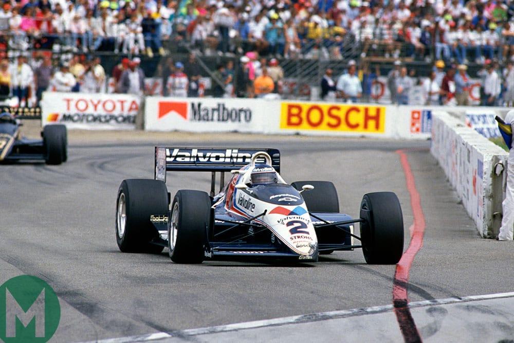 Al Unser Jr 1989 Long Beach