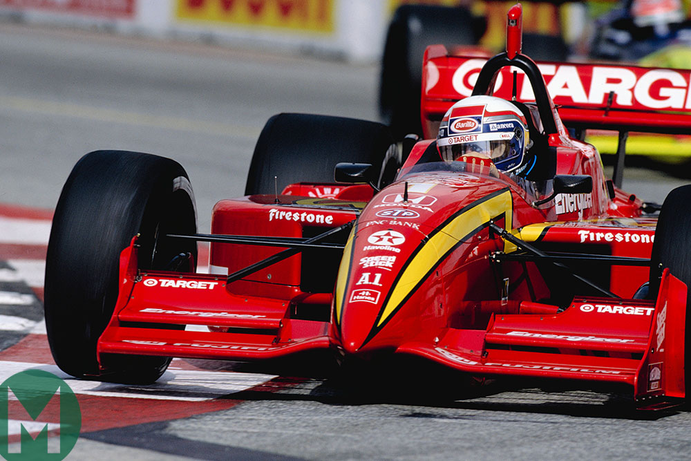 Alex Zanardi for Ganassi in the 1998 Long Beach Grand Prix