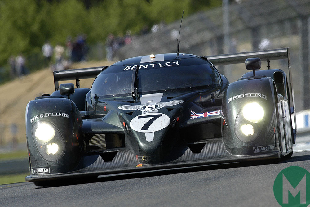 The 2003 Le Mans winning Bentley Speed 8