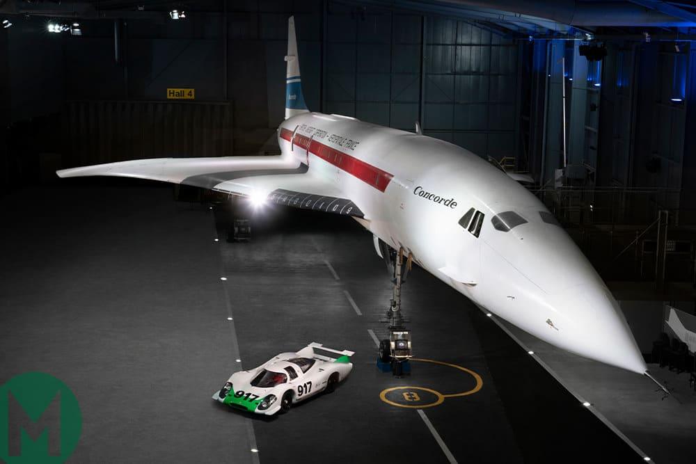 917 Porsche and Concorde