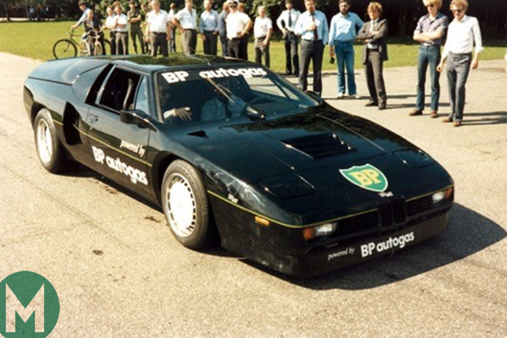 The unique adapted BMW M1 that set a land speed record in 1981