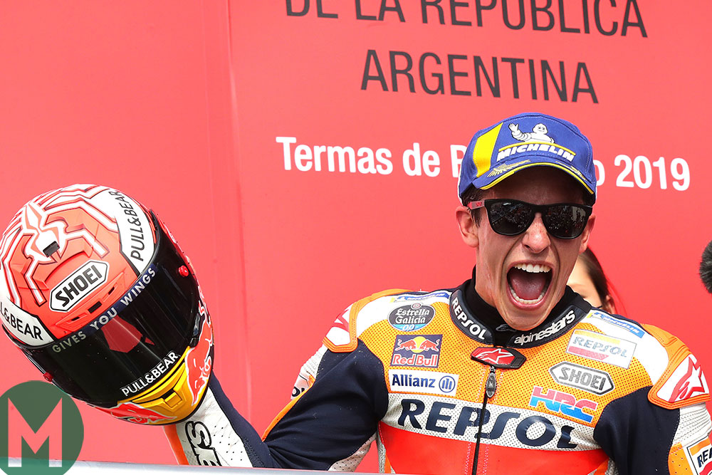 Marc Márquez Argentina 2019 MotoGP