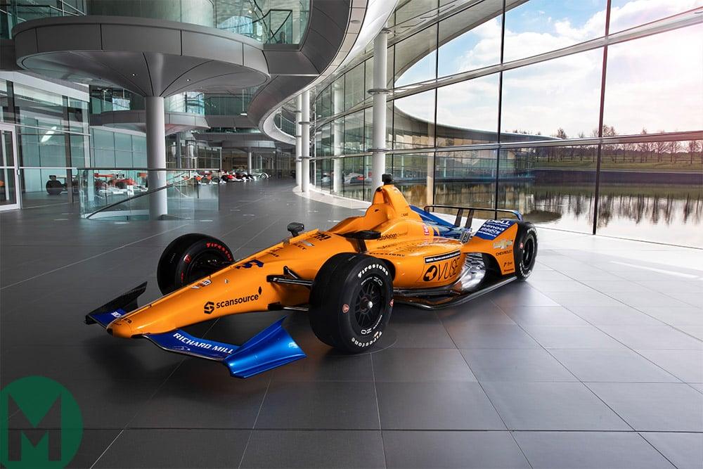 Alonso 2019 IndyCar