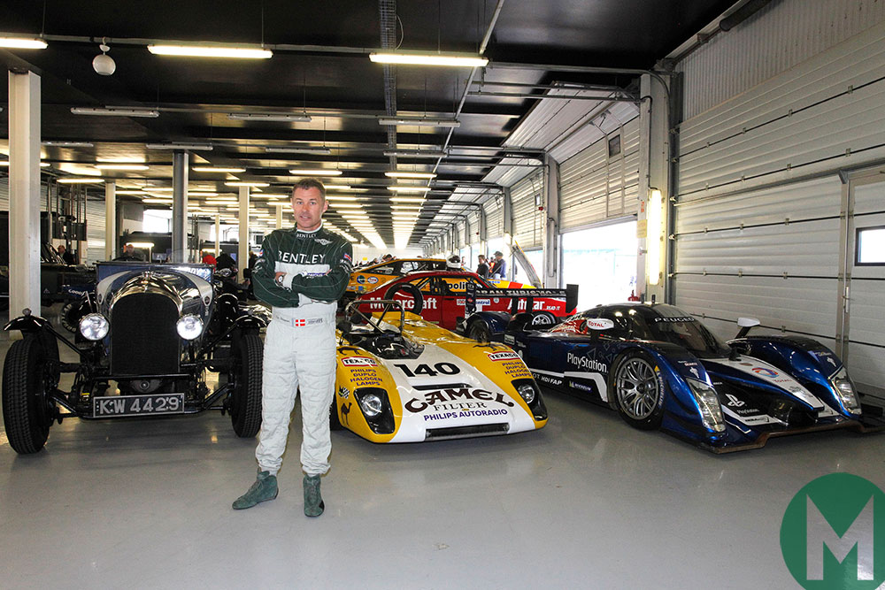 Tom Kristensen launches Silverstone Classic's  Twilight Tribute to Le Mans arces