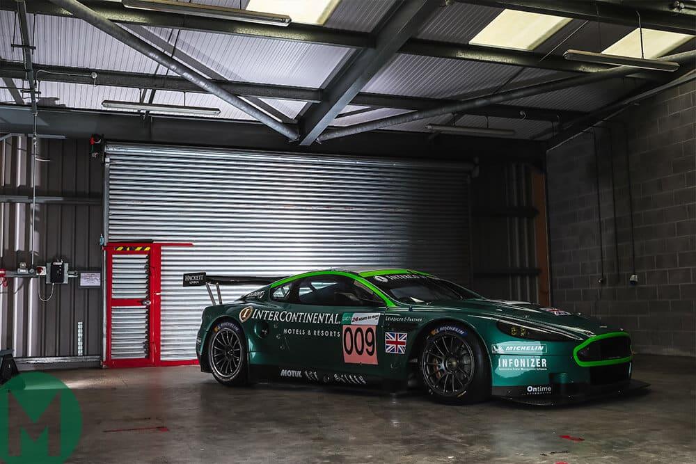 DBR1 garage