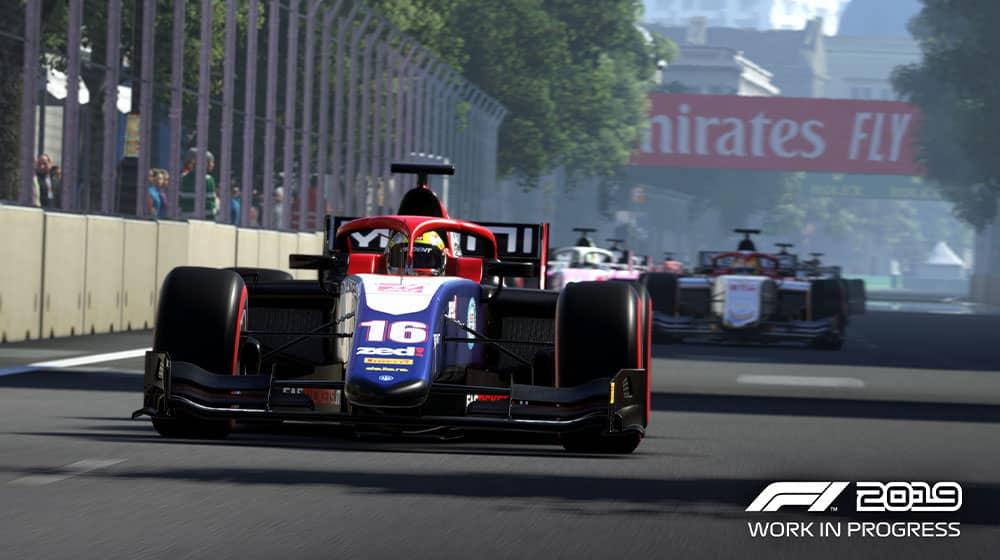 F2 in F1 2019