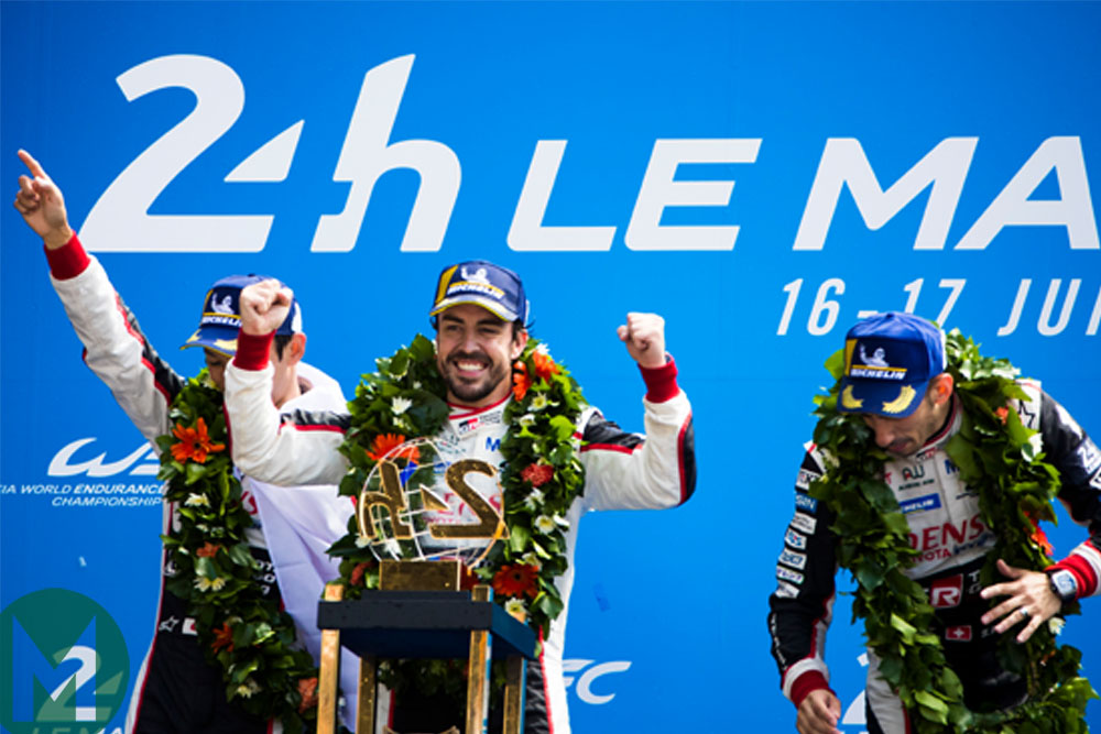 Alonso leaving Toyota: 24 hours of Le Mans podium