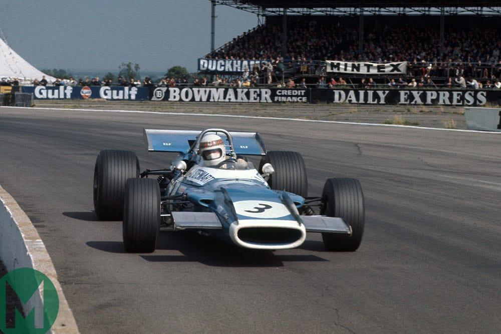 Sir Jackie Stewart 1969 British Grand Prix