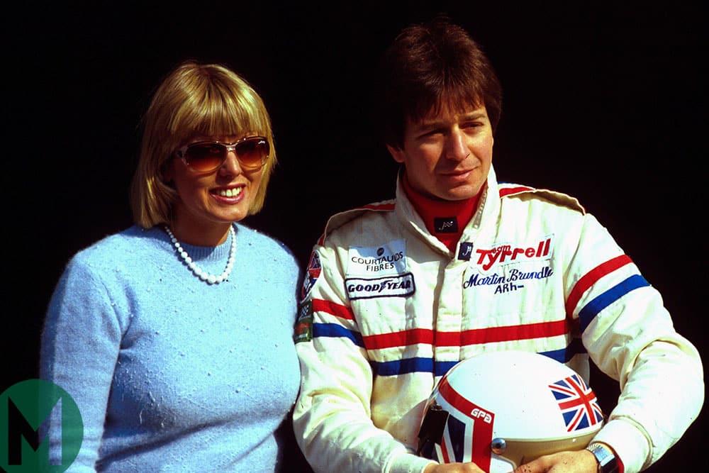 Martin Brundle and Liz Brundle 1985