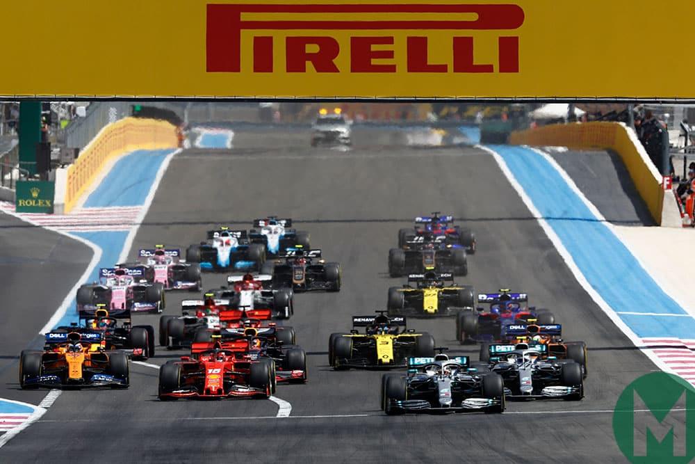 2019 French Grand Prix race start
