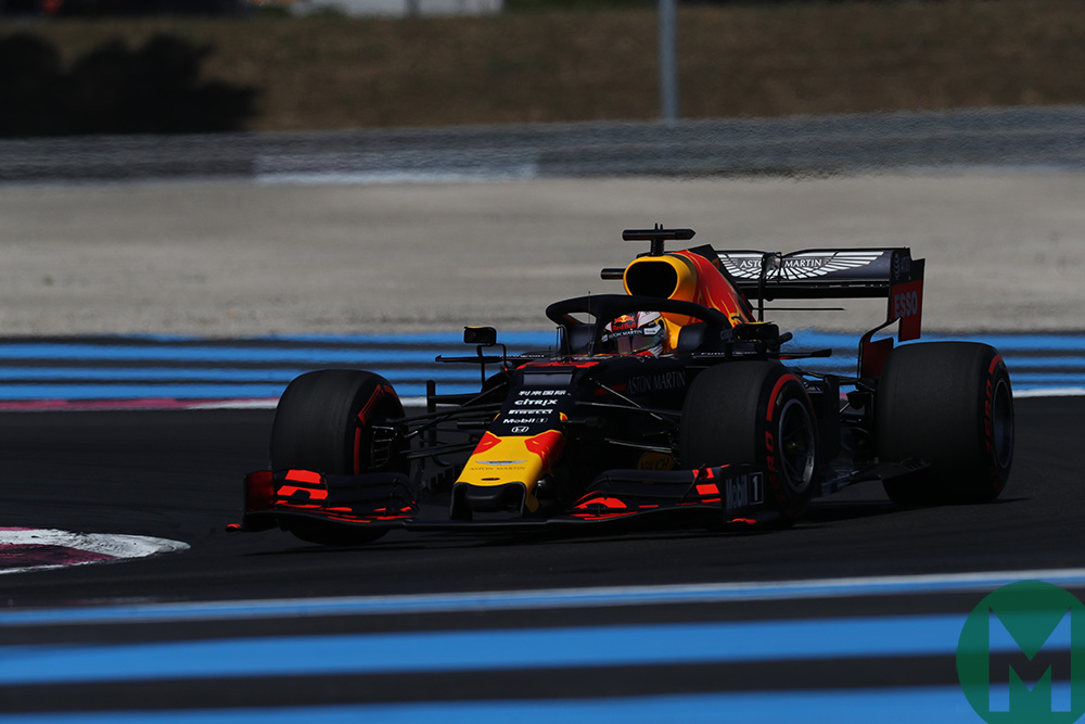 Max Verstappen in qualifying for the 2019 French Grand Prix
