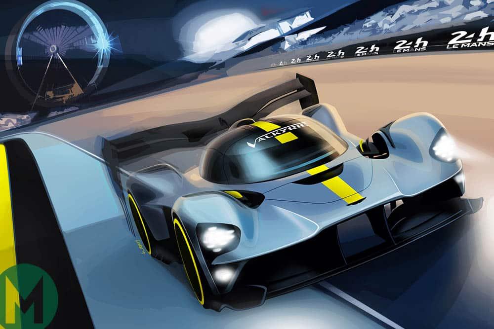 Aston MArtin Valkyrie racing car concept