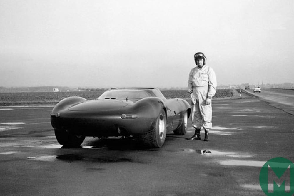 Norman Dewis and Jaguar XJR13