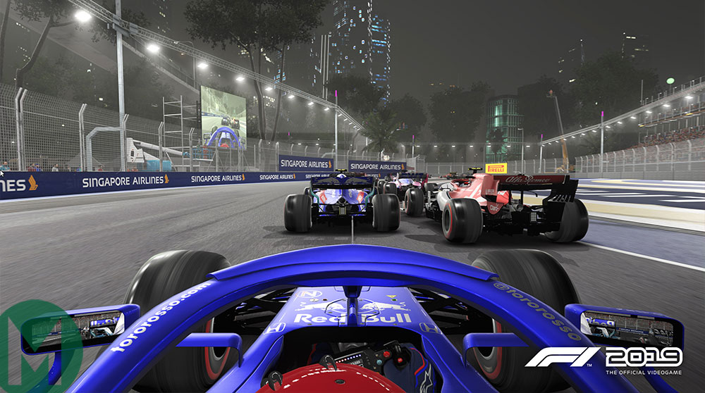 F1 2019 Singapore Toro Rosso