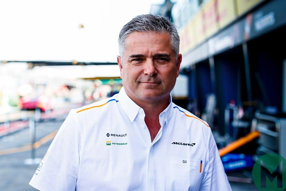 Gil de Ferran 2019 F1
