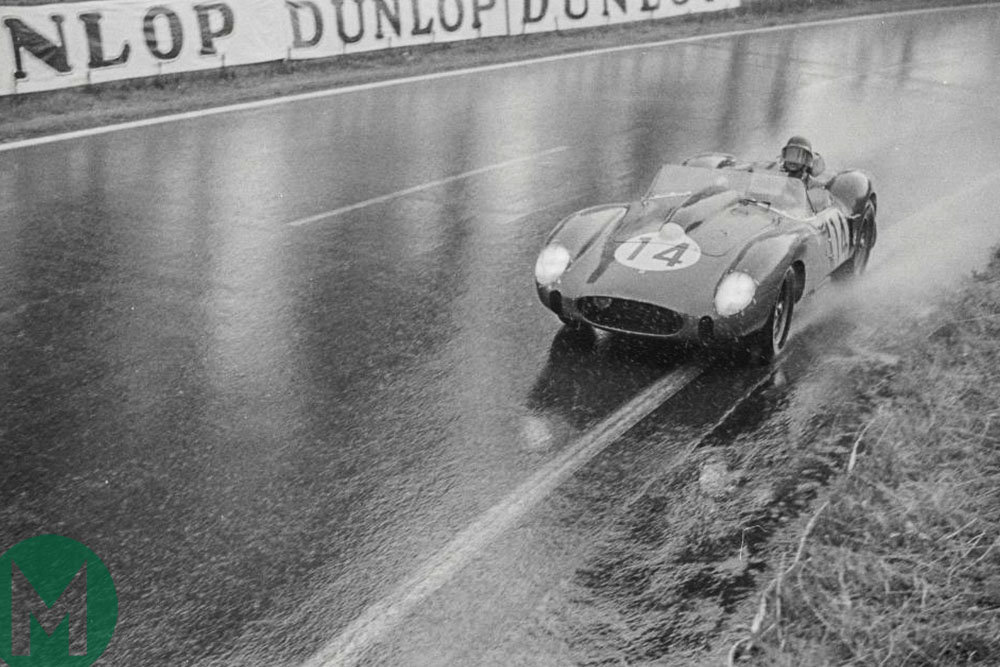 Phil Hill Ferrari at Le Mans in 1958