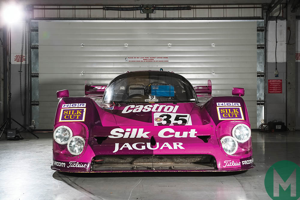 Jaguar XJR-12 back on track: Le Mans Group C legend in ...