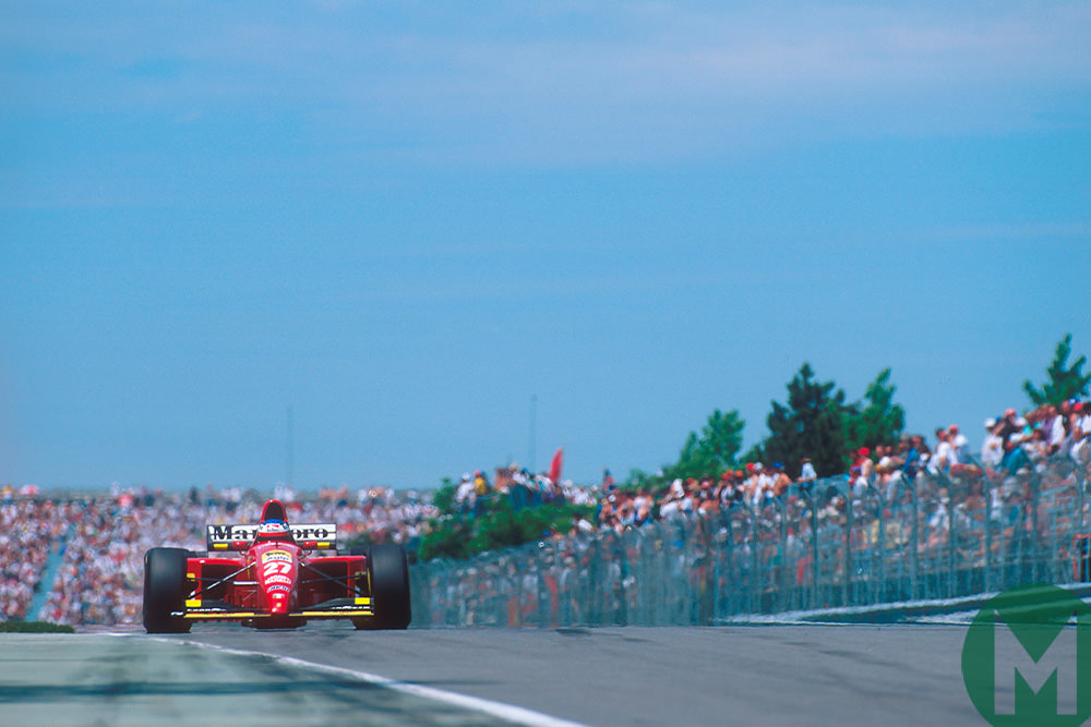 "It's over"": Alesi's drought ends at the 1995 Canadian Grand Prix"