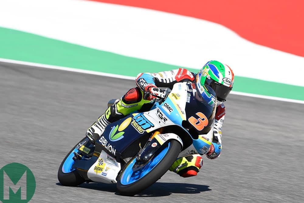 MotoGP TM Moto3 Kevin Zannoni Mugello