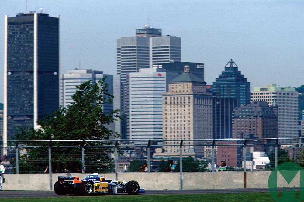 1995 Canadian Grand Prix, Michael Schumacher