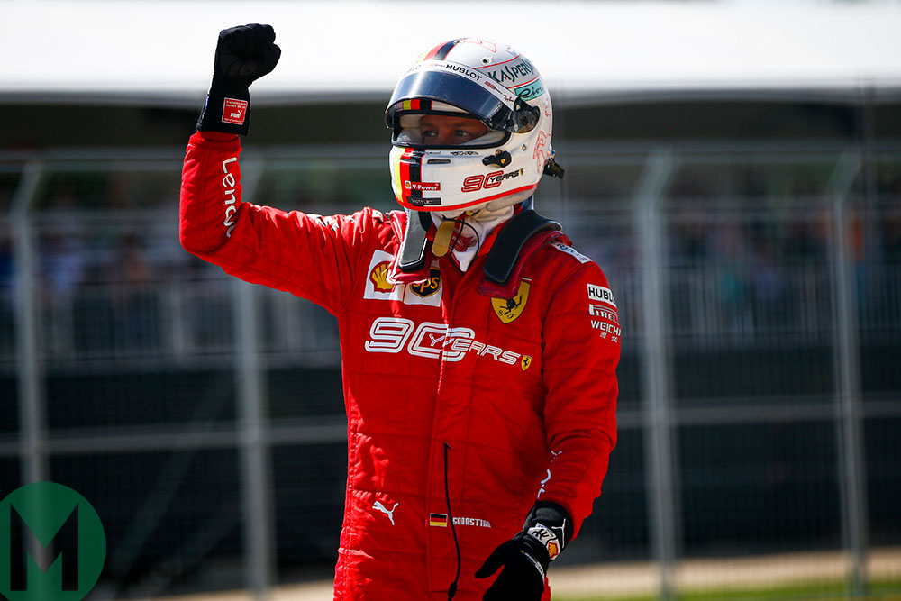 Sebastian Vettel P1 2019 Canadian Grand Prix
