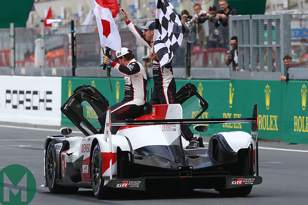 Alonso, Buemi and Nakajima win 2019 Le Mans 24 Hours