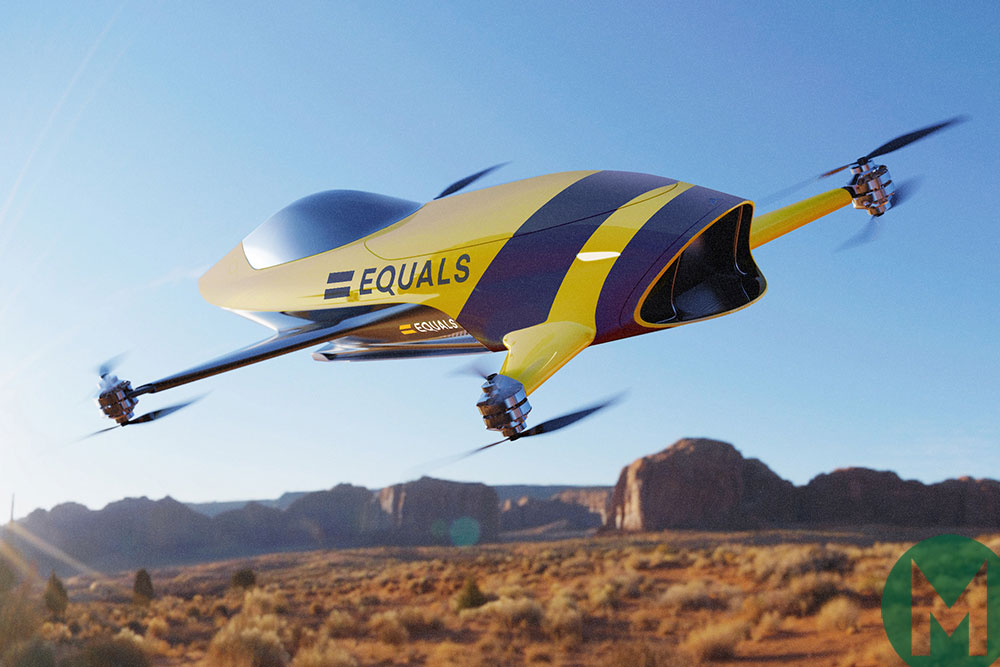Airspeeder will do a number of aerial displays at Goodwood Festival of Speed