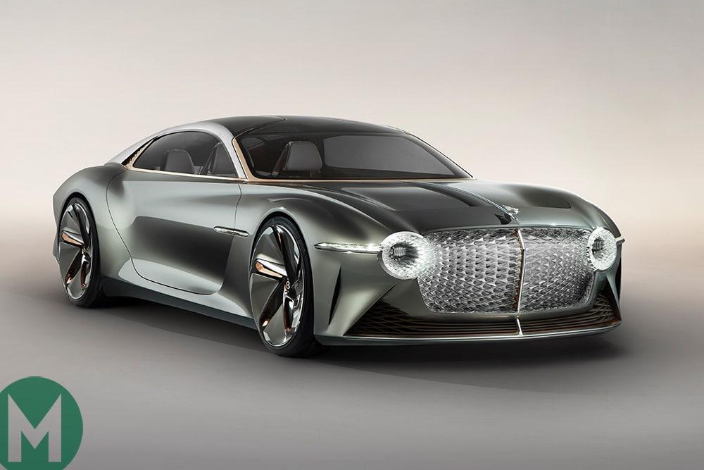 2019 Bentley EXP 100 GT concept car