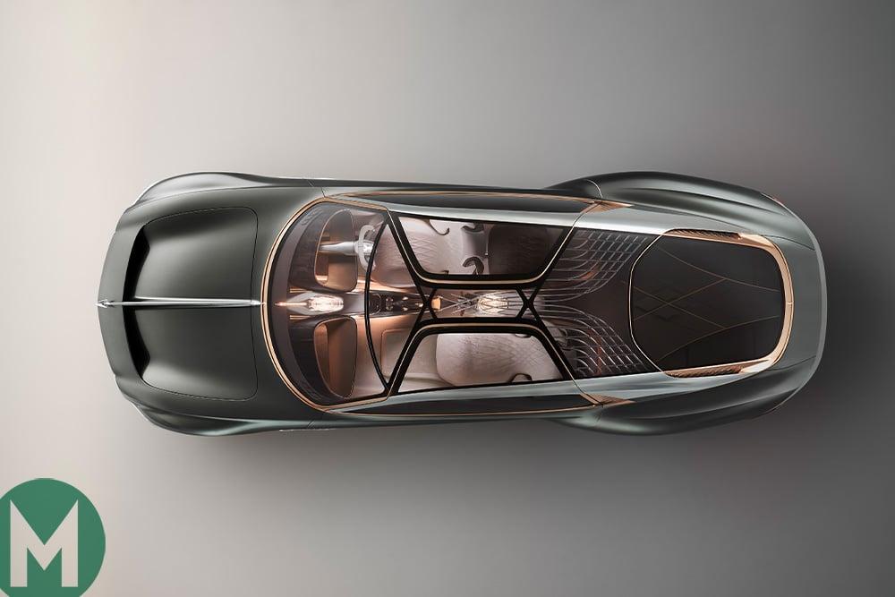Bentley EXP 100 GT concept car top