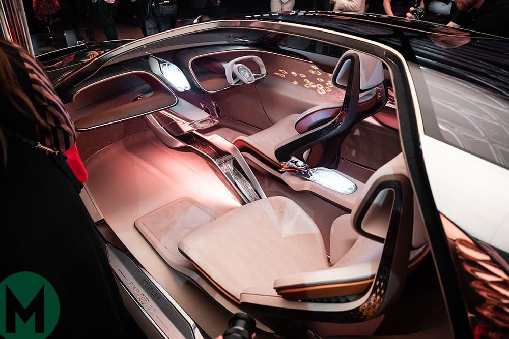 2019 Bentley EXP 100 GT concept car interior