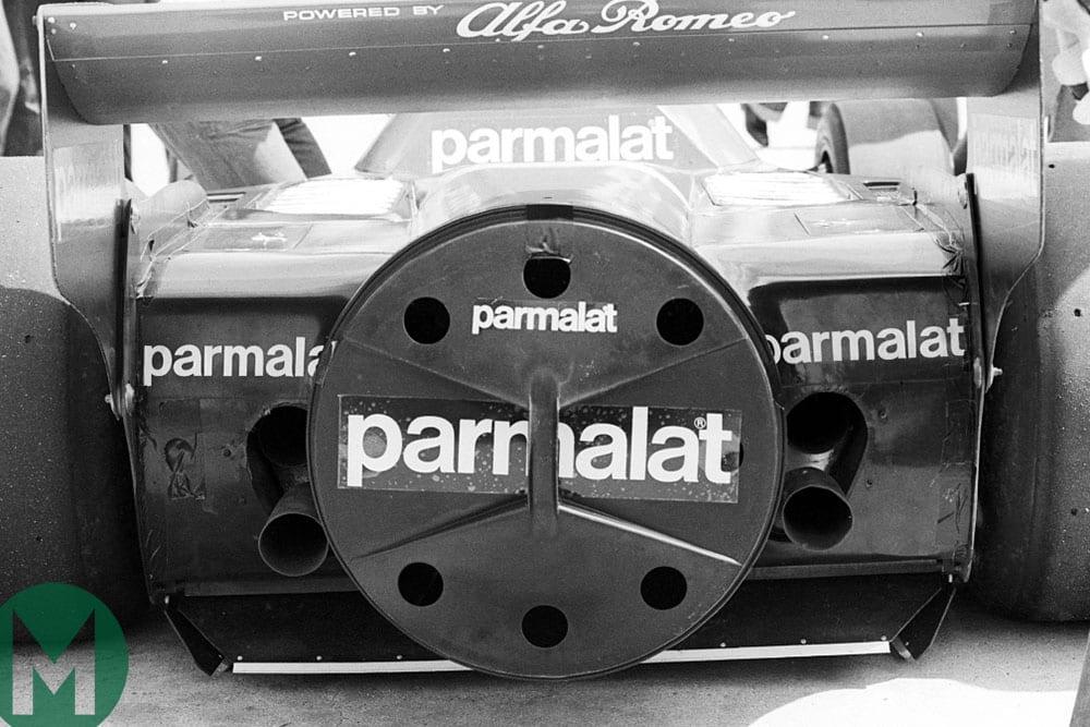 Bin lid cover for Brabham BT46B fan car