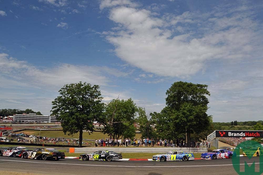 NASCAR start at Brands Hatch