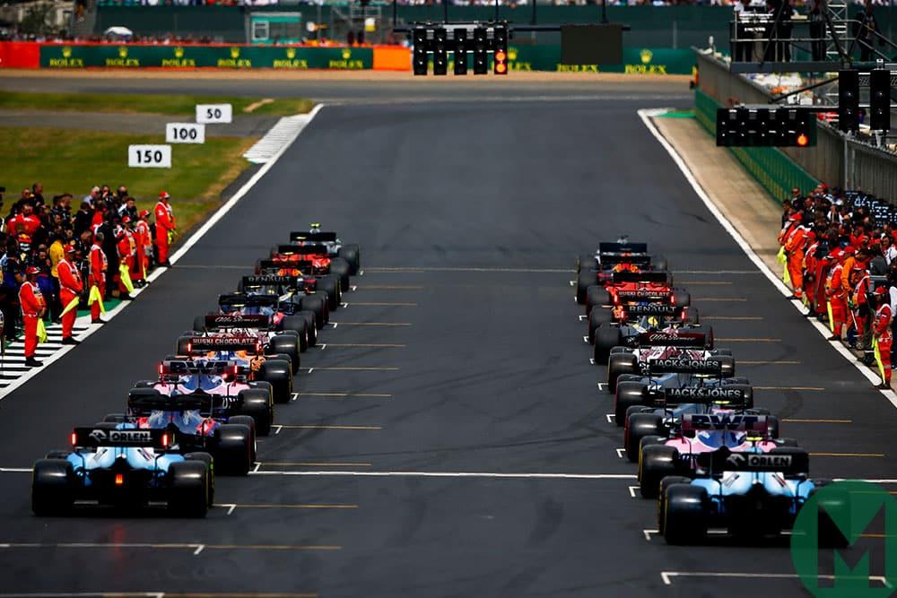 British Grand Prix 2019 starting grid