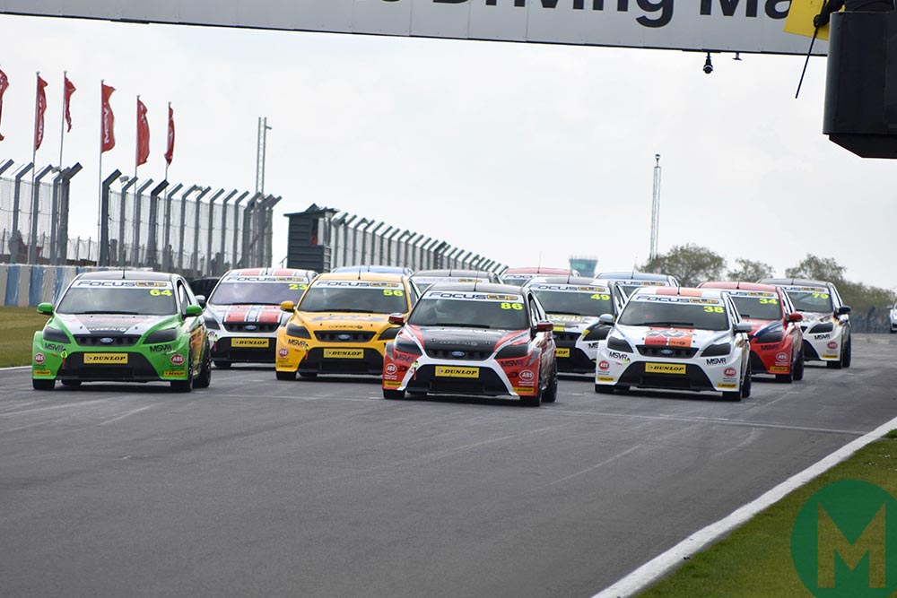 Focus Cup start at Brands Hatch