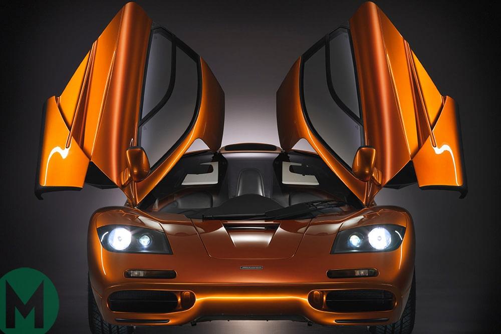 McLaren F1 with doors open