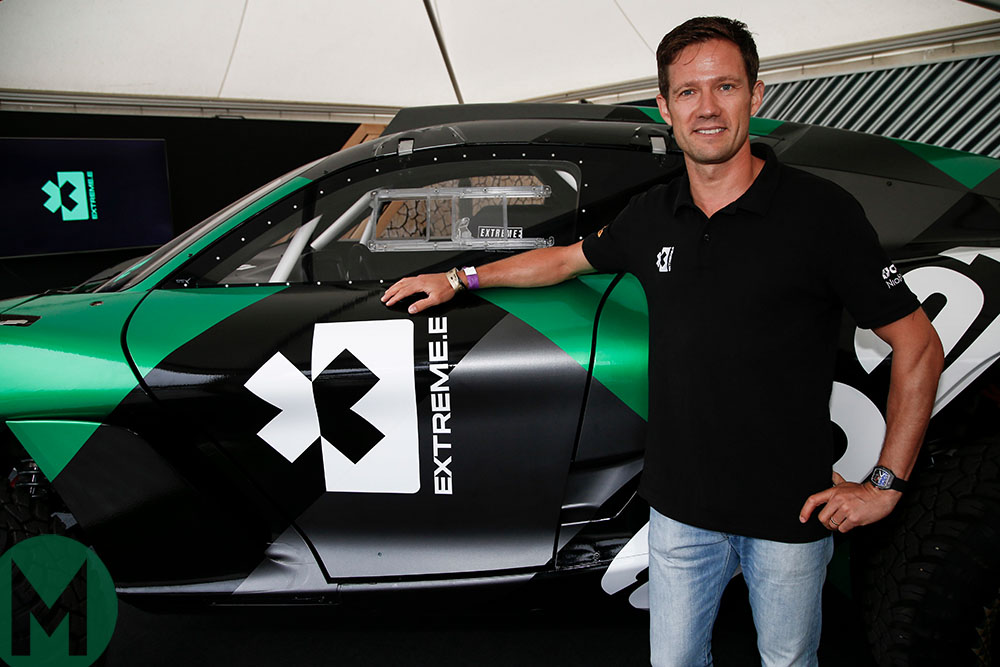 WRC champion Sebastien Ogier will join Extreme E as an ambassador